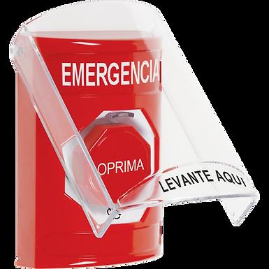 SS2029EM-ES | Estación de Emergencia Tipo Botón de Enclavamiento