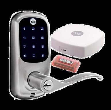 Manija Digital con Teclado para Puerta con APP  Envío Incluido  YALE CONNECT