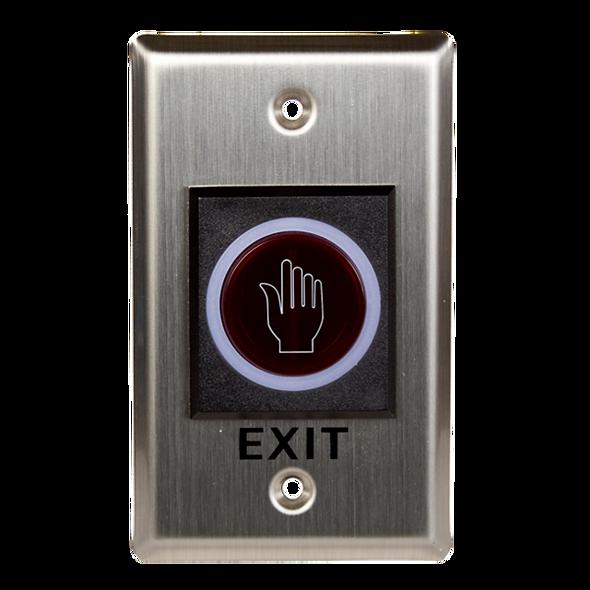ISK-840A Botón de Salida No-Touch NO/NC | Acero Inoxidable