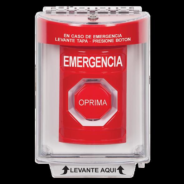 SS2042EM-ES Botón de Salida de Emergencia   Botón de Enclavamiento con Stopper