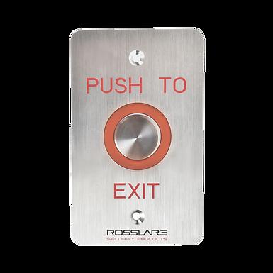 EX06E0-1 ROSSLARE   Botón Pulsador de Salida Iluminado para Uso en Exterior