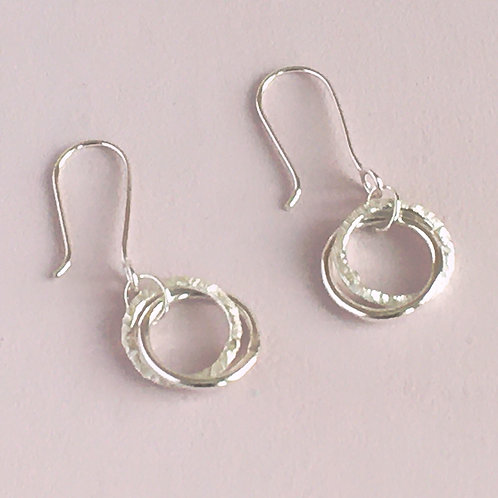 Halo Collection - Interlocking Circles Earrings