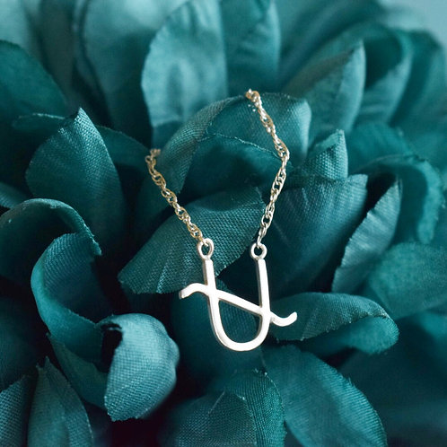 Sterling Silver Zodiac Necklace, Ophiuchus