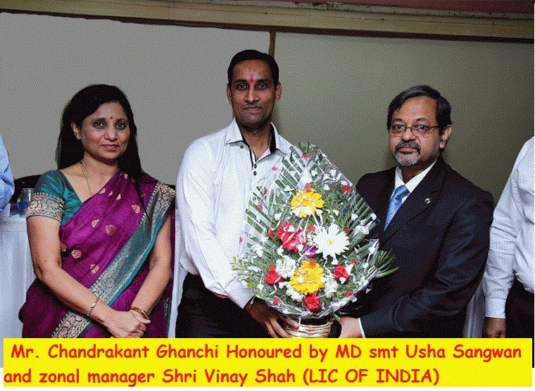 With MD (LIC of India)