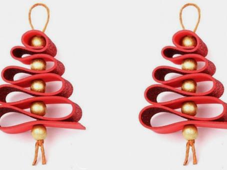 Decoracions de Nadal i dibuixos pel calendari