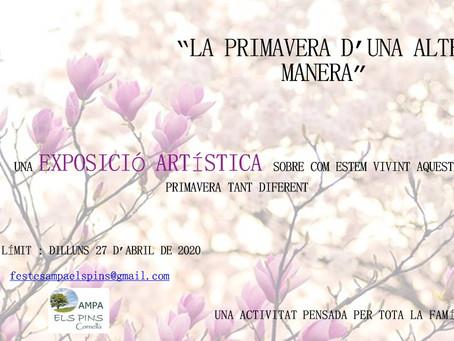 Participa a la nostra exposició artística
