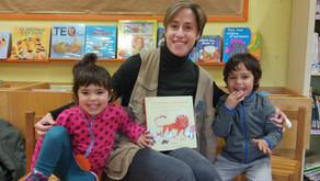 La Guadaira ens porta 'Un león glotón' a la biblioteca