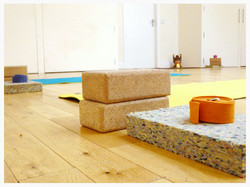 Cork Lotus Yoga: The Space