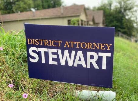 Caddo District Attorney James Stewart Seeks a Second Term