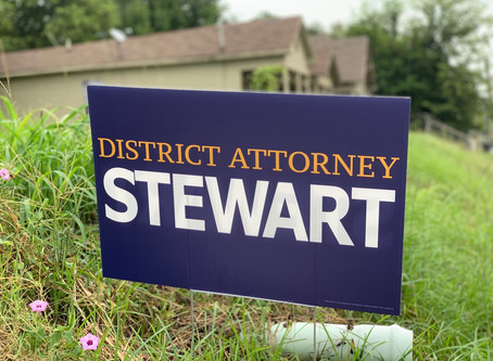 Yard Signs Are Ready