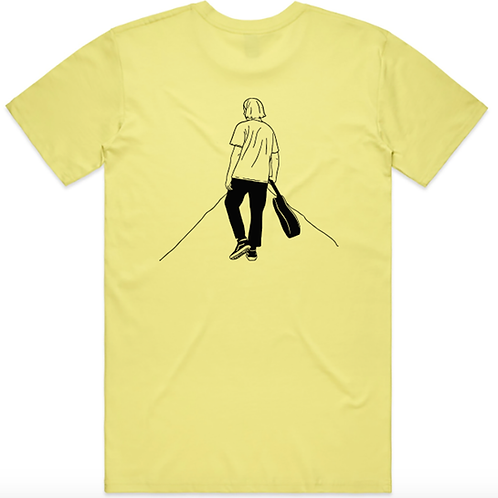 Yellow 'The Distance Between' T-Shirts