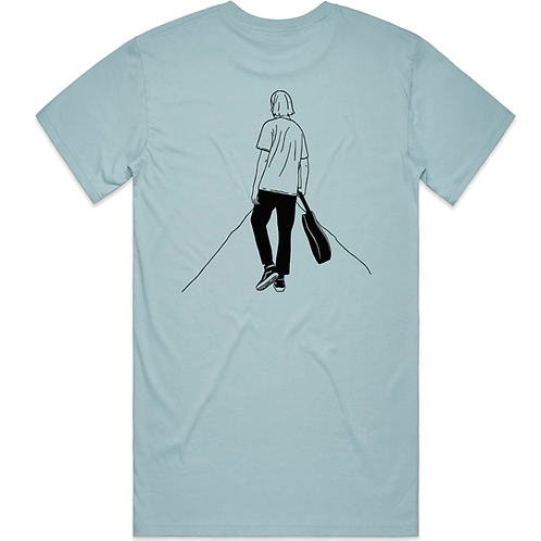 Blue 'The Distance Between' T-Shirts
