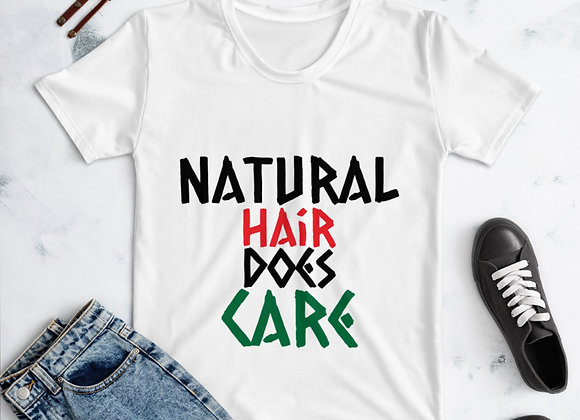 Natural Hair Does Care! T-shirt