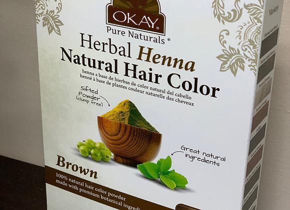 Henna - Organic Hair Color BROWN