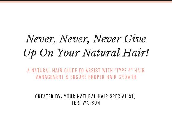 A Natural Hair Guide
