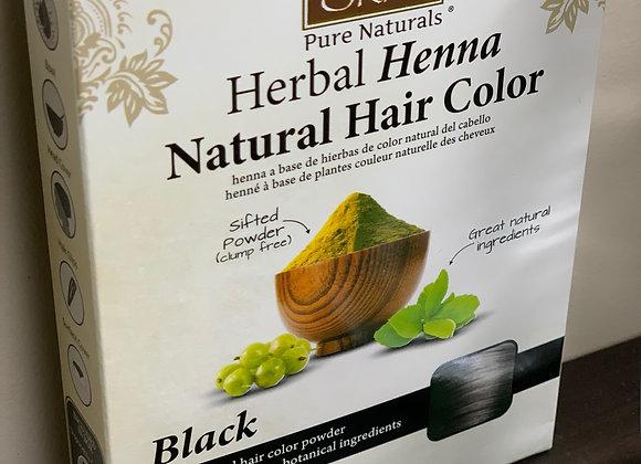 Henna - Organic Hair Coloring BLACK