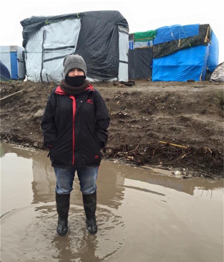 At the Jungle, Calais