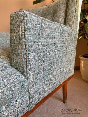 Vintage MCM Chair-Greenhouse Fabrics