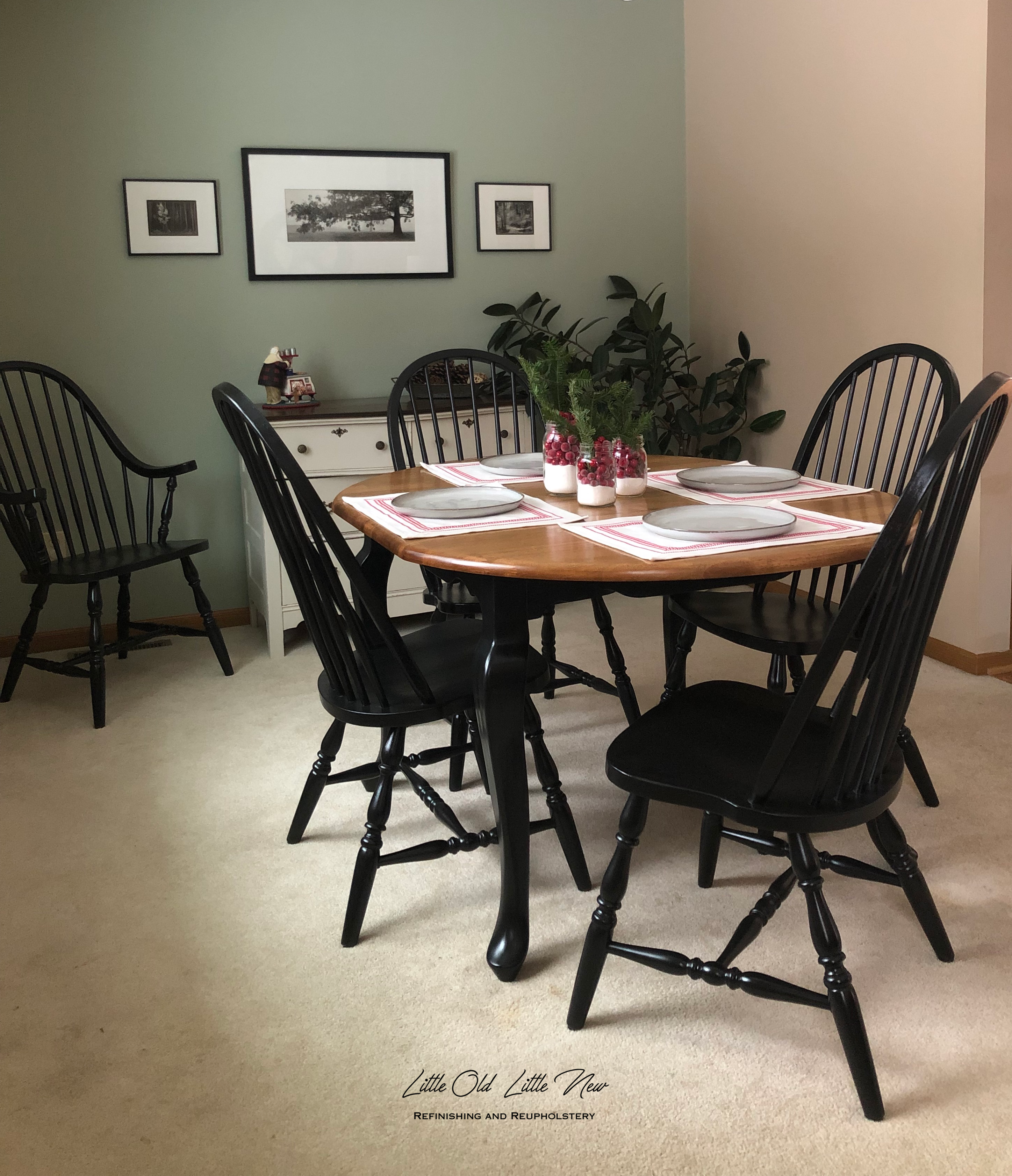 Black Dining Set $599