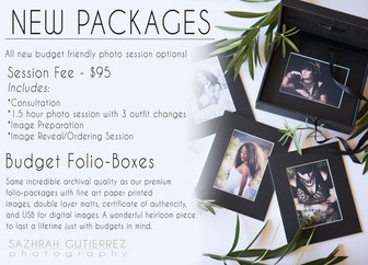 New Budget Friendly Packages!