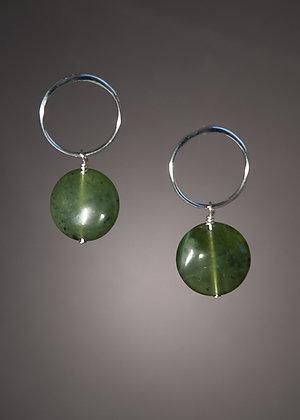 E05967 Jade Earrings