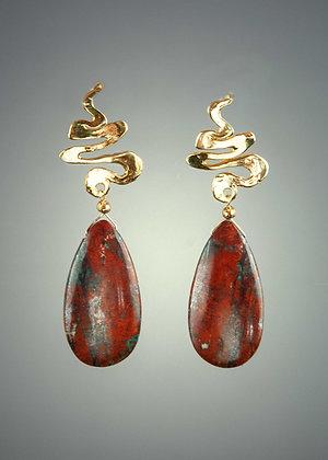 Cuprite Earrings
