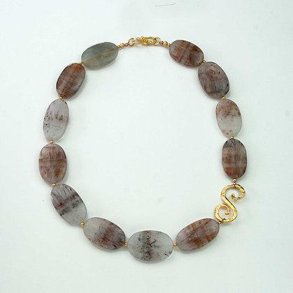 Rutillated Quartz Necklace