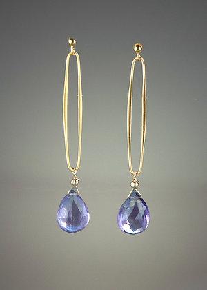 Amethlyst Earrings