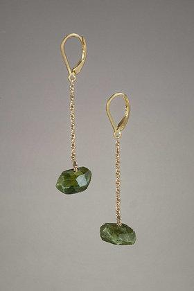 Vesuvianite Earrings