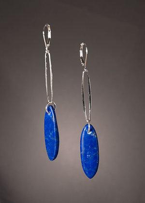 E18235 Lapis Lazuli Earrings