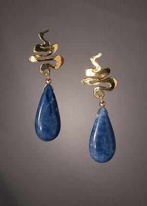 E32909 Sodalite Earrings