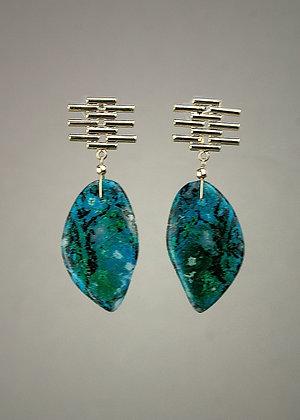 Gem Silica Earrings
