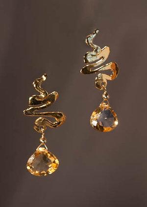 W239410 Citrine Earrings
