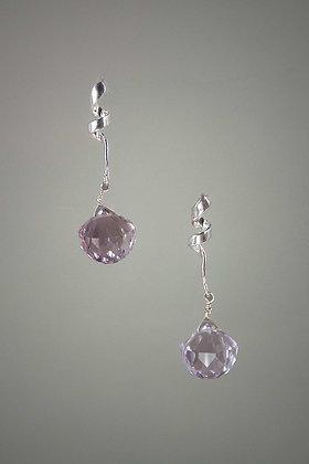 Ametrine and Sterling Silver Earrings