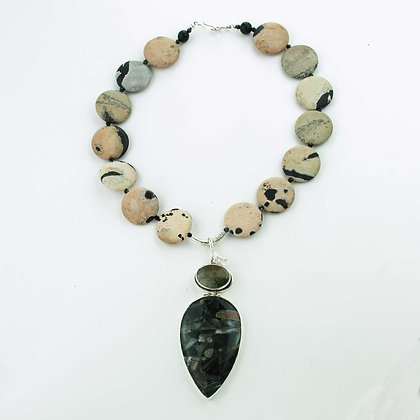 Jasper and Agate Necklace