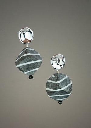 Carabao Horn Earrings