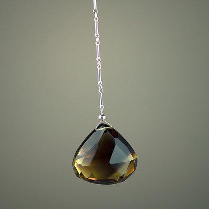 Bi-color Citrine Necklace