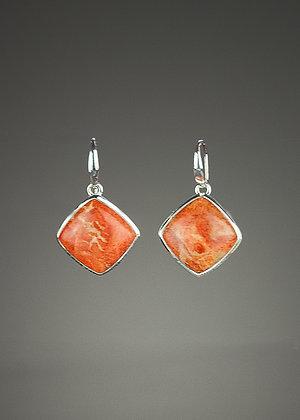 Sponge Coral Earrings
