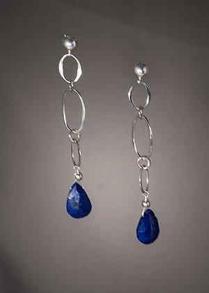 E19772 Lapis Lazuli Earrings