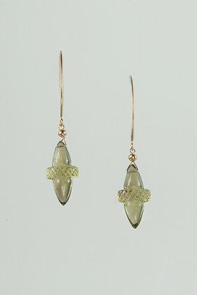 Bi-Color Citrine Earrings