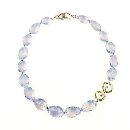 Brazilian Lavender Quartz Necklace