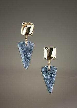 Amethyst Drusy Earrings