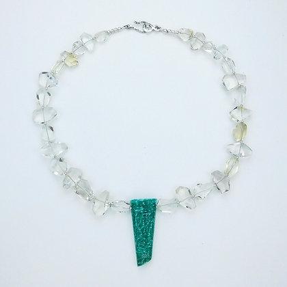 Citrine and Amazonite Necklace