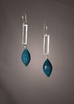 E07576 Chrysocholla Earrings