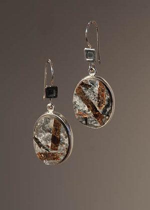Astrophylite Earrings
