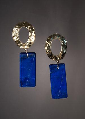 E48414 Lapis Lazuli Earrings