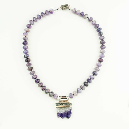 Amethyst Stalagtite Necklace
