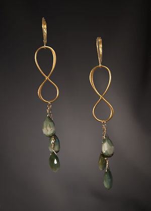 Cat's Eye Jasper Earrings