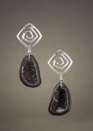 Geode Earrings