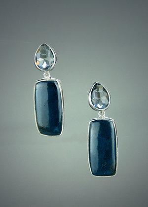 Vivianite Earrings